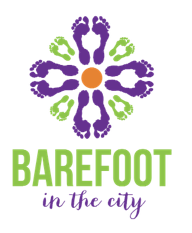 Barefoot in the City Logo
